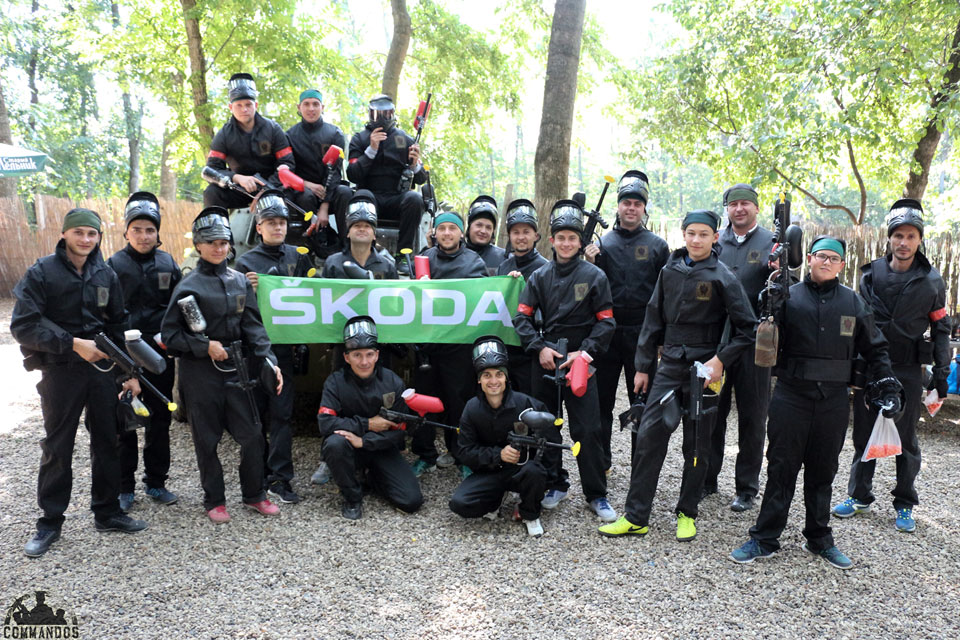 Corporate Paintball Games in Chisinau