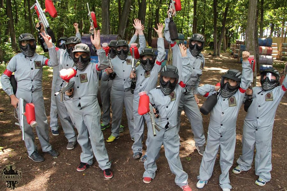 Paintball for Kids near Chisinau