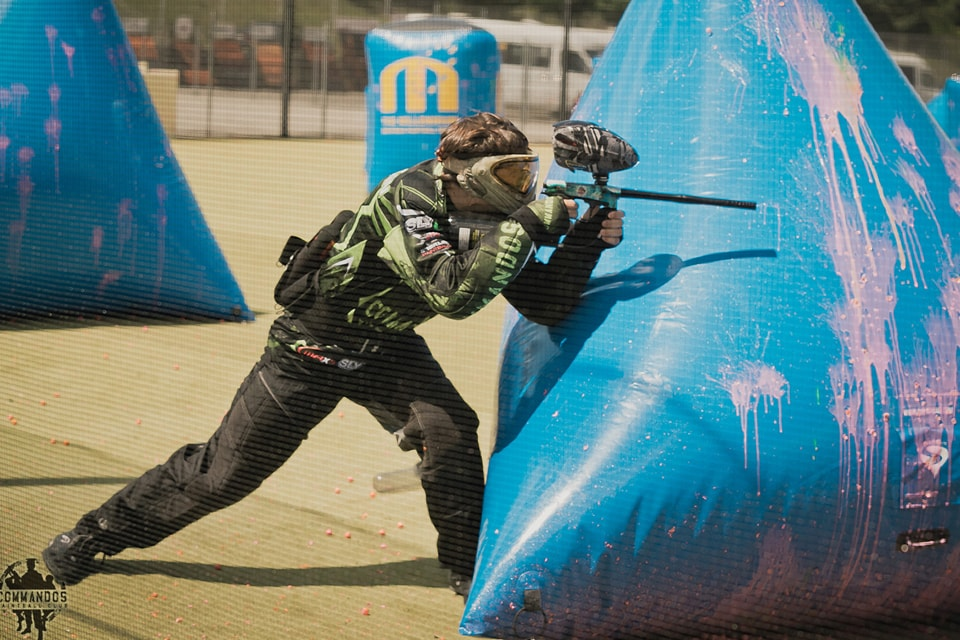 Sports paintball games, speedball, 3x3 games, 5x5 games, paintball championships
