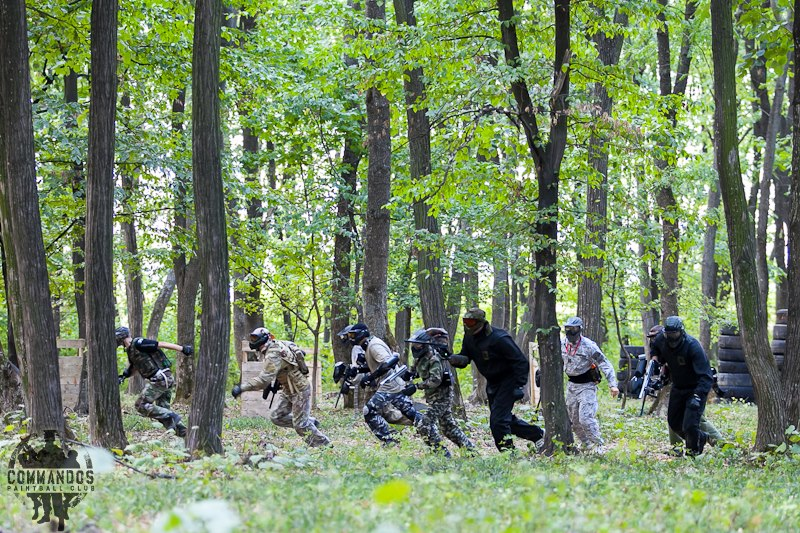 About Commandos Paintball Club