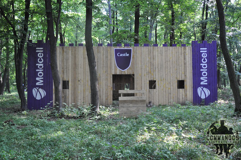 Commandos Paintball Club - Moldcell castle