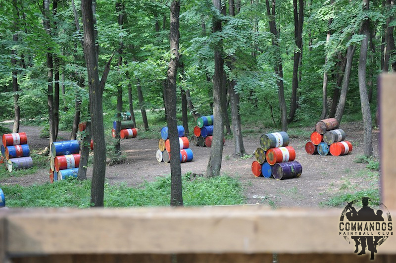 Commandos Paintball Club - Chemical Alley